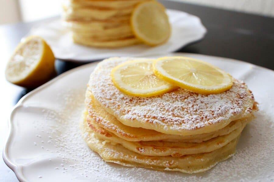Лимонные блинчики