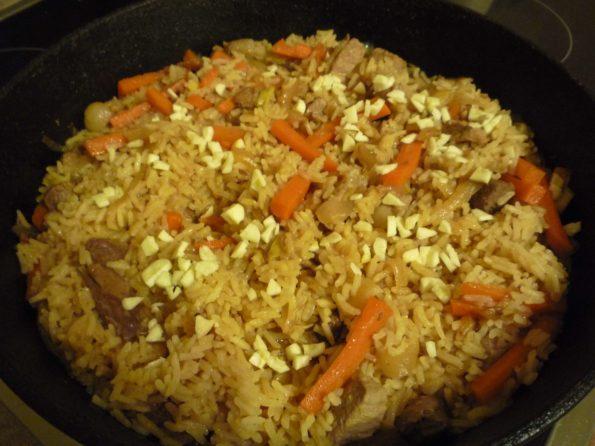 Пробуем рис на готовность