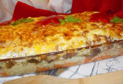С овощами и сыром
