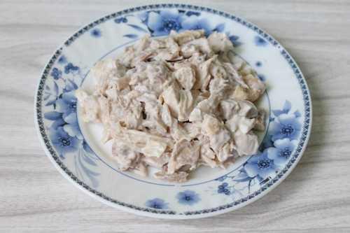 Куриное мясо в майонезе