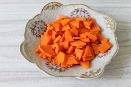 Морковь для восточного риса