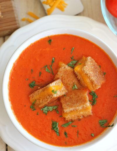 Сервируем суп