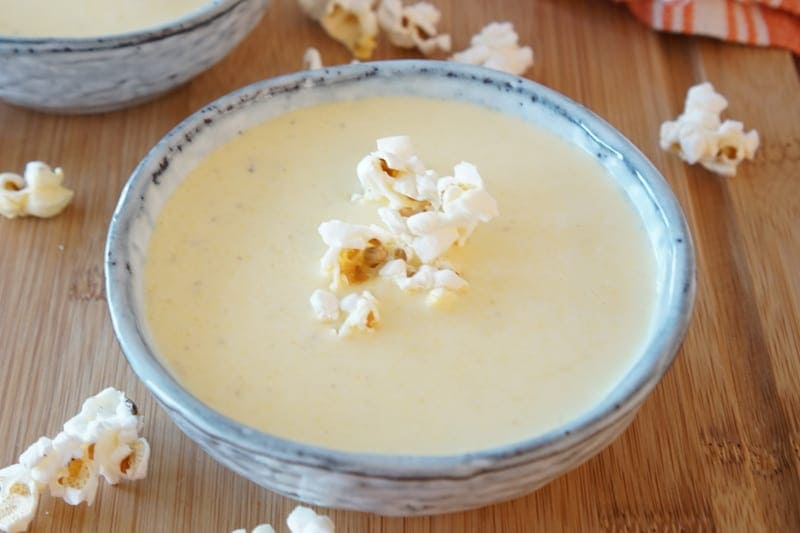 Оригинальный сырный крем-суп на пиве