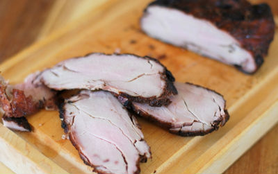 Свинина в шоколадной панировке