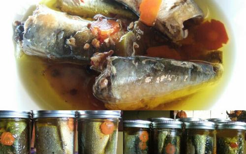Рыбные консервы дома