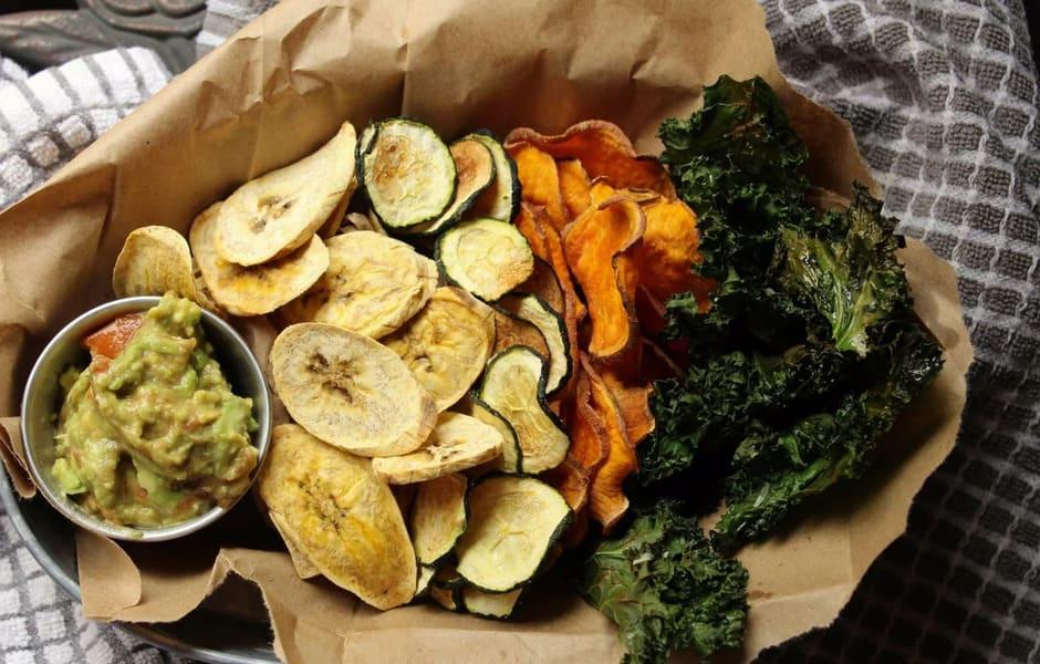Чипсы из овощей в домашних условиях в духовке рецепт