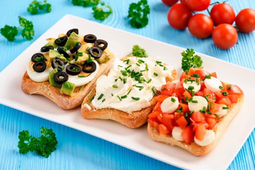 6 рецептов вкусных бутербродов для легкого перекуса