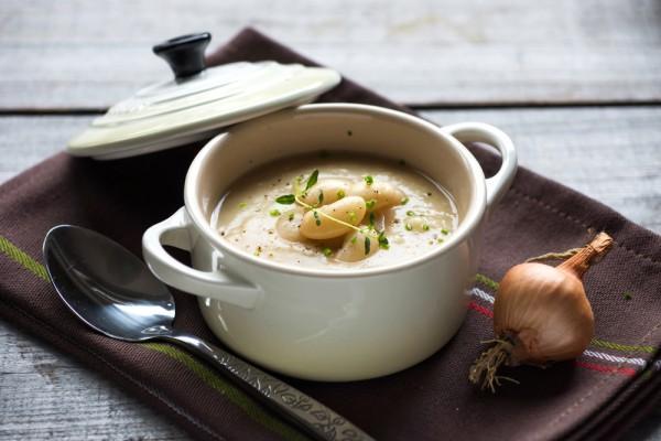 Суп-крем из фасоли