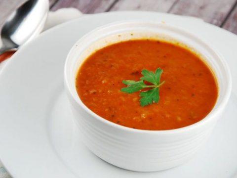 Густой томатный суп-пюре