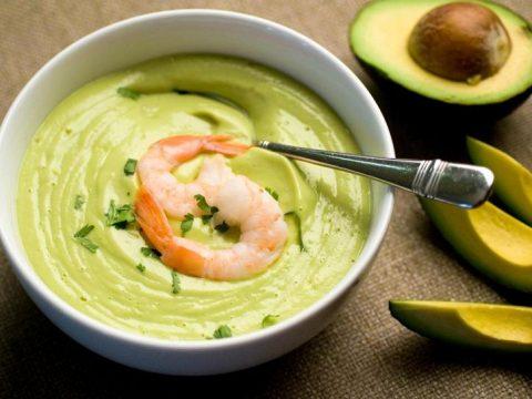 Заморский суп из авокадо